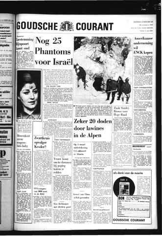 Goudsche Courant 1970-02-25