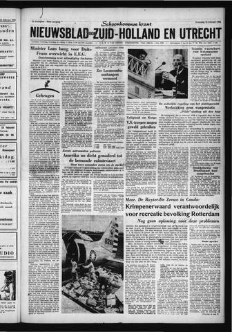 Schoonhovensche Courant 1961-02-22