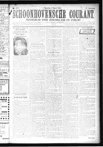 Schoonhovensche Courant 1925-03-02