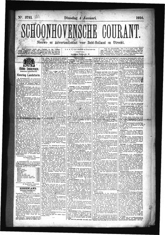 Schoonhovensche Courant 1916