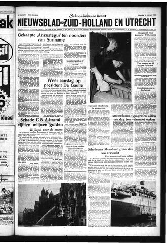 Schoonhovensche Courant 1963-02-18
