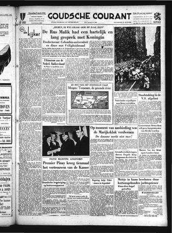 Goudsche Courant 1952-04-09