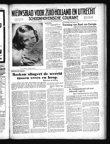 Schoonhovensche Courant 1949-01-31