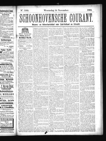 Schoonhovensche Courant 1894-11-14