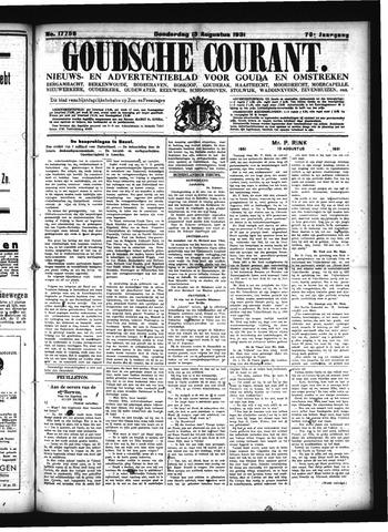Goudsche Courant 1931-08-13