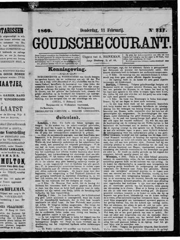 Goudsche Courant 1869-02-11