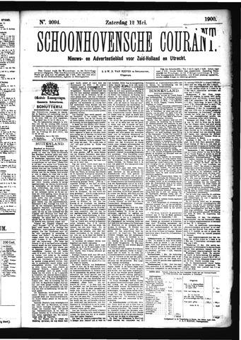 Schoonhovensche Courant 1900-05-12