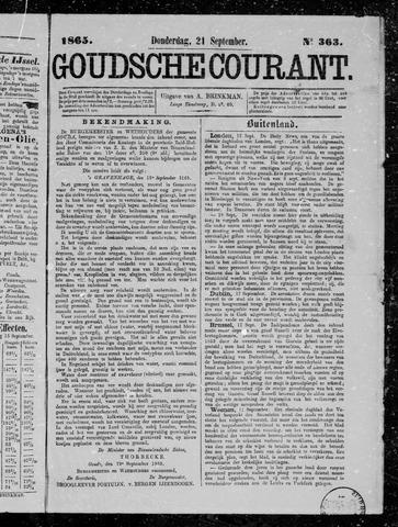 Goudsche Courant 1865-09-21