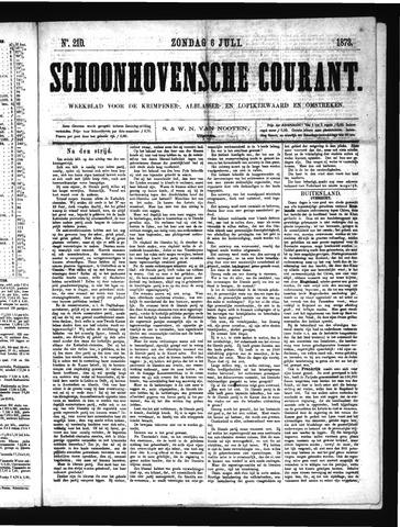 Schoonhovensche Courant 1873-07-06