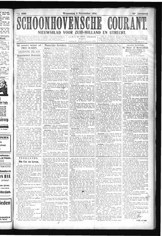 Schoonhovensche Courant 1924-11-05