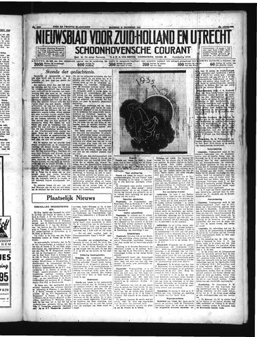 Schoonhovensche Courant 1934-12-31
