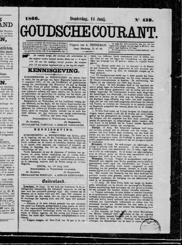 Goudsche Courant 1866-06-14