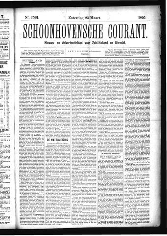 Schoonhovensche Courant 1895-03-23