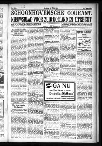 Schoonhovensche Courant 1927-05-27