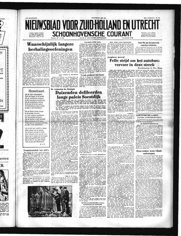 Schoonhovensche Courant 1951-05-02