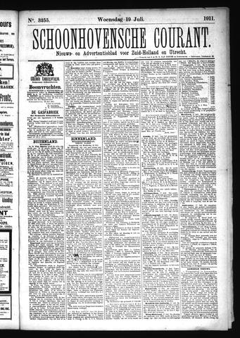 Schoonhovensche Courant 1911-07-19