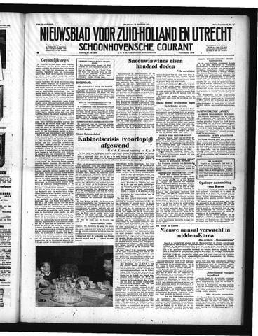 Schoonhovensche Courant 1951-01-22