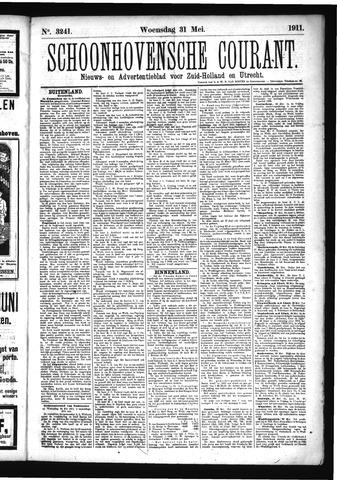 Schoonhovensche Courant 1911-05-31