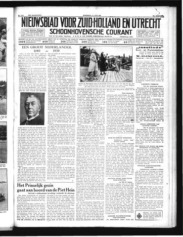 Schoonhovensche Courant 1939-06-21