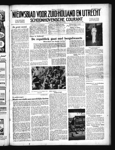 Schoonhovensche Courant 1950-02-10