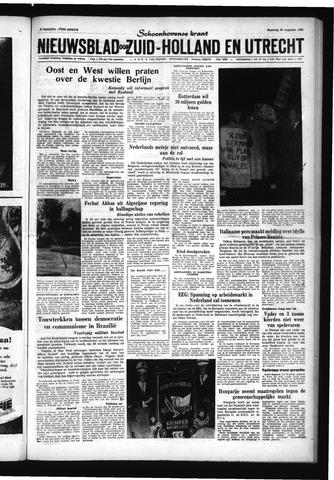 Schoonhovensche Courant 1961-08-28