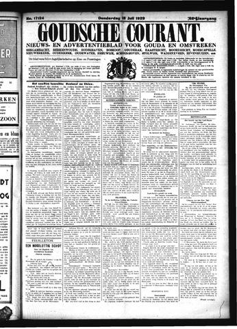 Goudsche Courant 1929-07-18