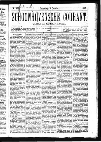 Schoonhovensche Courant 1887-10-08