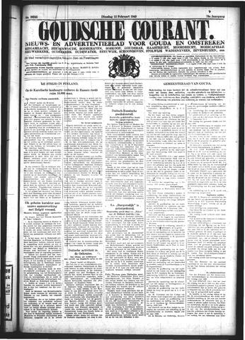 Goudsche Courant 1940-02-13
