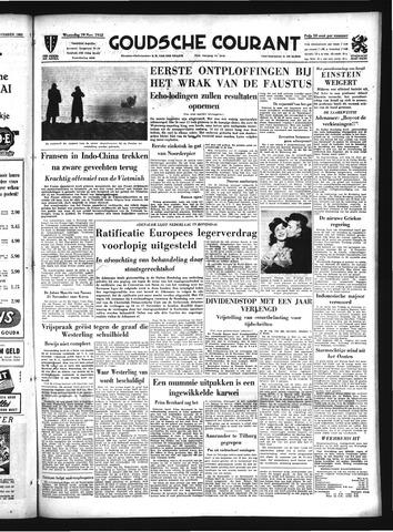 Goudsche Courant 1952-11-19