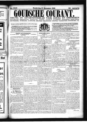 Goudsche Courant 1930-11-27
