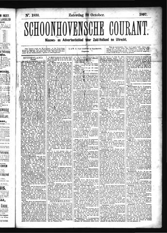 Schoonhovensche Courant 1897-10-30