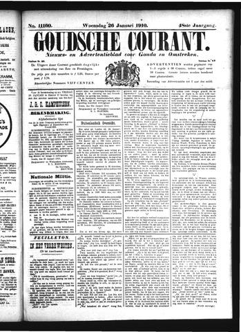 Goudsche Courant 1910-01-26