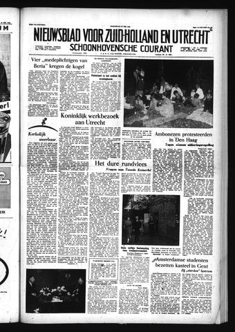 Schoonhovensche Courant 1956-05-30