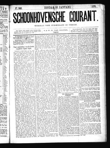 Schoonhovensche Courant 1876-01-30