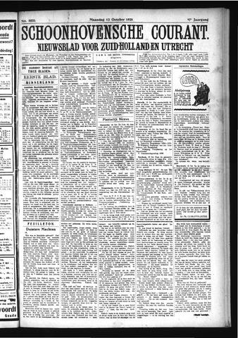 Schoonhovensche Courant 1925-10-12