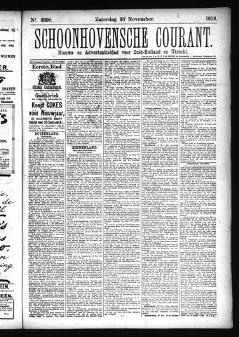 Schoonhovensche Courant 1912-11-30