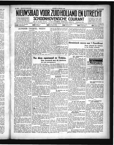 Schoonhovensche Courant 1936-02-28