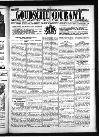 Goudsche Courant 1933-08-24