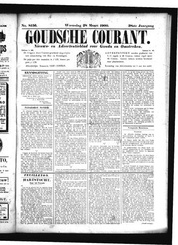 Goudsche Courant 1900-03-28