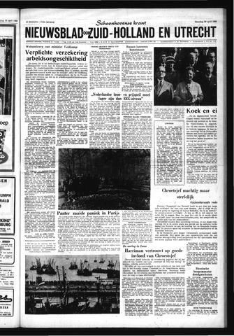 Schoonhovensche Courant 1963-04-29