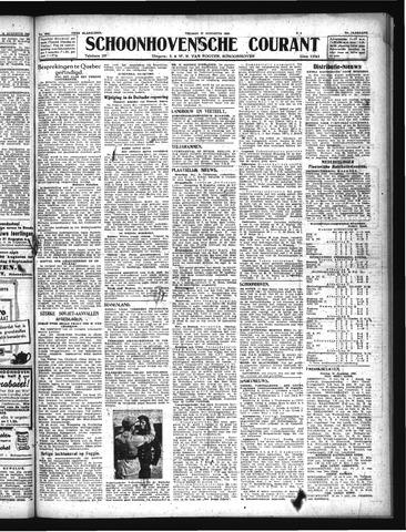 Schoonhovensche Courant 1943-08-27
