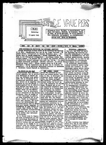 De Vrije Pers 1945-04-19