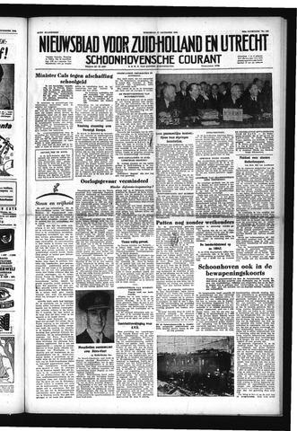 Schoonhovensche Courant 1952-12-17