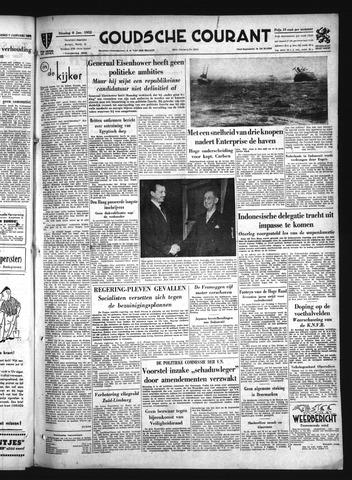 Goudsche Courant 1952-01-08