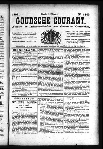 Goudsche Courant 1891-02-03