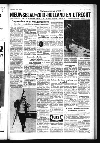 Schoonhovensche Courant 1967-01-16