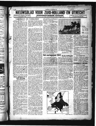 Schoonhovensche Courant 1942-12-31