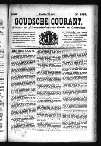 Goudsche Courant 1886-04-28