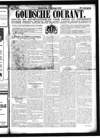 Goudsche Courant 1932-01-14