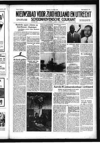 Schoonhovensche Courant 1958-11-19